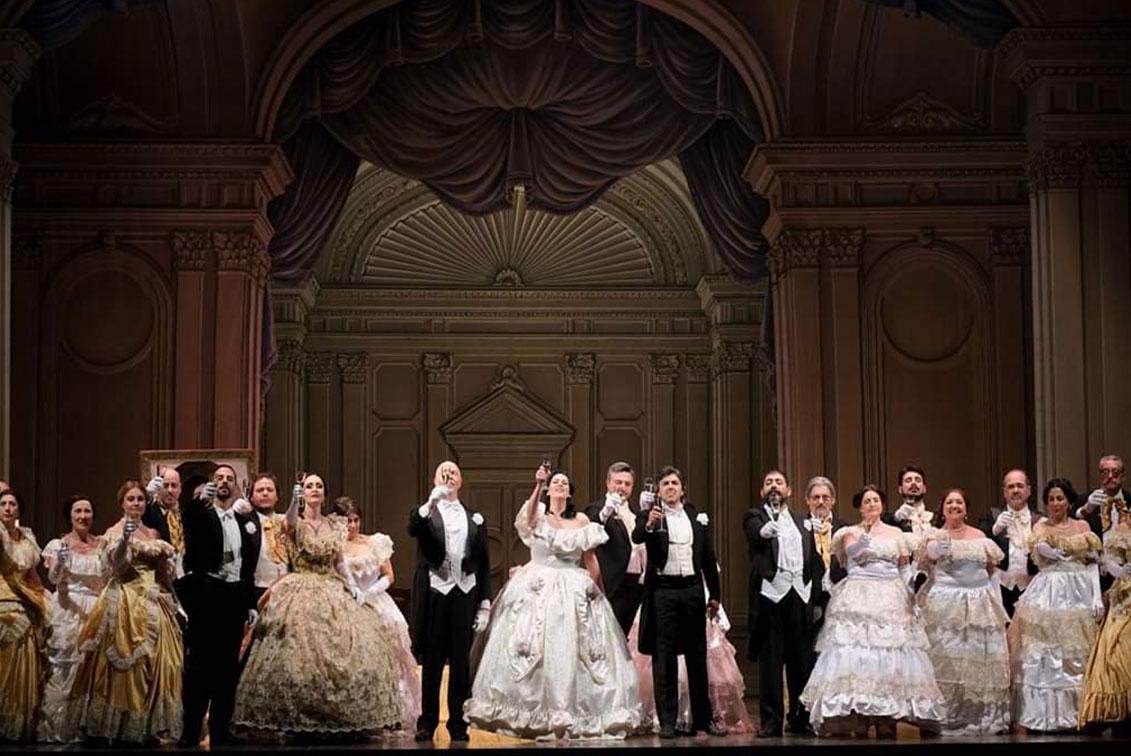 """La Traviata-Ginevra 2019- """"Il brindisi"""""""